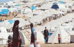 عودة 800 لاجىء سوري من الاردن