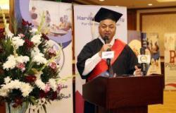 فيديو وصور.. محمود بكرى يحصل على الدكتوراه.. ويطالب باستراتيجية لمواجهة الإرهاب