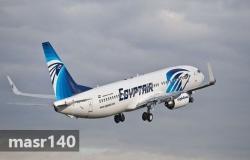 عادت رحلة مصر للطيران بعد الإقلاع بسبب مرض عضو الطاقم