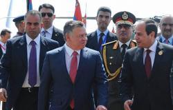 السيسي والملك عبد الله يبحثان التطورات في المنطقة وتعزيز العلاقات المصرية الأردنية