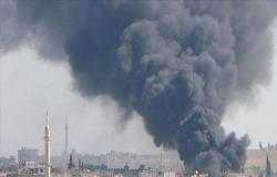 النظام السوري يعلن جرح 3 من جنوده في ضربة جوية إسرائيلية