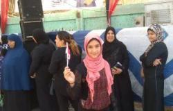 بأعلام مصر.. الأطفال يحتفلون أمام لجان الوراق وبشتيل وأسيم