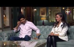 """صاحبة السعادة - """" تحدي الأسئلة """" بين اسراء عبد الفتاح وحمدي الميرغني .. شوف مين اللي كسب!؟"""