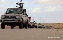الجيش الليبي يعلن استهداف 14 موقعا خلال ضربات جوية ليلية جنوب طرابلس