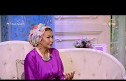 السفيرة عزيزة - صباح عبد الحليم - تتحدث عن معاناة مصممين الأزياء والمنافسة بينهم