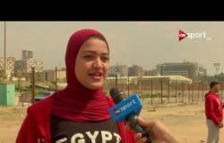 لقاءات مع روان أيمن. لاعبة منتخب مصر لألعاب القوى.. وسيف الله شاهين رئيس الاتحاد