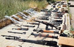 تساقط المستودعات يستمر في سوريا... ضبط أسلحة أمريكية وتركية وقطع أثرية (فيديو)