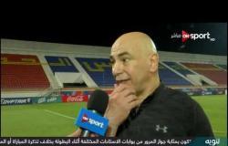 تصريحات حسام حسن المدير الفني لسموحة عقب الفوز على بتروجت