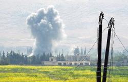 بالفيديو... تمهيد ناري يستبق اقتحام الجيش السوري لمواقع النصرة بريف حماة