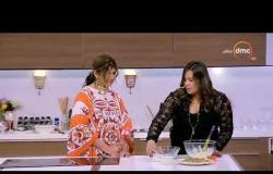 مطبخ الهوانم - طريقة عمل (كنافة بتشيز كيك) مع وردة عرابي
