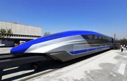 الصين تكشف عن قطار ماجليف بسرعة 373 ميلاً في الساعة