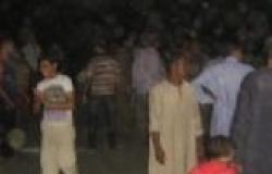 أهالي بعض قرى القوصية يقطعون الطريق احتجاجا على انقطاع الكهرباء