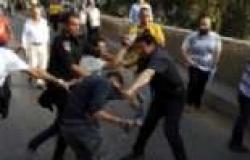 """اشتباكات بين """"تمرد"""" والشرطة أمام وزارة الثقافة"""