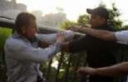 """""""الصحة"""": إصابة ثلاثة مجندين شرطة في اشتباكات أمام وزارة الثقافة"""