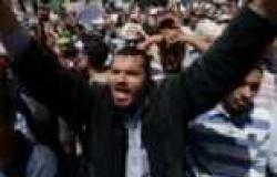 """في مليونية """"لا للعنف"""".. أعضاء """"الإخوان"""" يحاصرون عمارة لمنع قناة العربية من تصويرهم"""