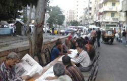 """أهالى باكوس يشاركون فى الإفطار الجماعى لـ""""تمرد"""" بالإسكندرية"""