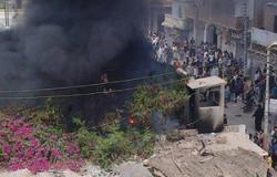 """إحباط محاولة اقتحام مركز شرطة """"طما"""" بسوهاج من قبل عناصر مسلحة"""
