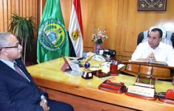 محافظ الإسماعيلية: لاتهاون فى التصدى لمحاولة التعدى على أملاك الدولة