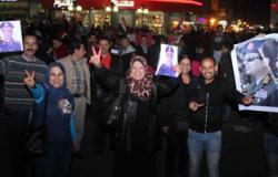 """أهالى شبرا الخيمة لـ""""السيسى"""": أنت بأمر الشعب مطلوب للرئاسة"""