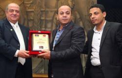 """""""إعلاميون من أجل مصر"""" تكرم بشير حسن بنقابة الصحفيين"""