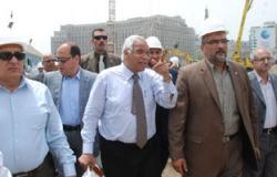 محافظ القاهرة يتفقد جراج التحرير.. ويؤكد: افتتاحه أوائل يوليو القادم