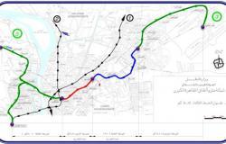الخط الثالث للمترو.. البداية العتبة والنهاية مطار القاهرة