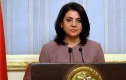 وزيرة الإعلام تتفقد آثار حريق بكافيتريا بمبنى الإذاعة والتليفزيون
