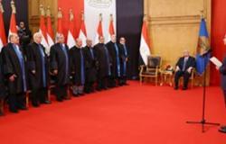 الجالية المصرية بلبنان تحتفل بتنصيب السيسى رئيسًا لمصر