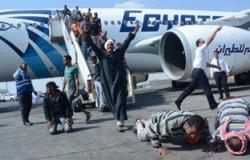 وزارة الطيران: نقلنا 4793 مواطنًا نازحًا من لبييا للقاهرة عبر تونس حتى الآن