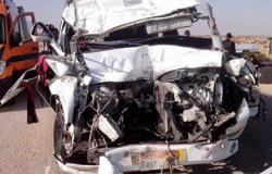 """إصابة 7 أشخاص إثر تصادم 3 سيارات بطريق """"ميت غمر-الزقازيق"""""""