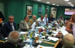 """بدء اجتماع """"الجبهة المصرية"""" بحضور رؤساء الأحزاب لتدشين قائمة موحدة"""