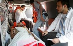 إصابة 14 مجندا فى حادث سير بشمال سيناء