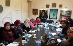 """بالصور..فيروس سى وتدوير القمامة على رأس اجتماعات """"المرأة العربية"""" بالإسكندرية"""