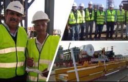 رئيس مدينة المحلة يناقش تعديلات خطوط الجهد المتوسط مع مسئولى الكهرباء