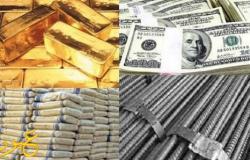 أخبار الاقتصاد في مصر: أسعار الدولار – الذهب – الحديد – الأسمنت