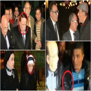«عكاز» الجندي و«حجاب» رجاء حسين.. 8 لقطات أثارت الجدل في عزاء «أحمد راتب»