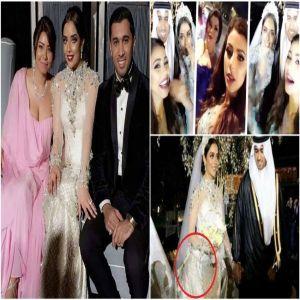 سقوط فستانها وجرأة «شيرين».. 8 لقطات أثارت الجدل في زفاف «بلقيس»