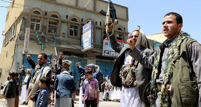 الحوثيون، جماعة أنصار الله، صنعاء، اليمن 5 سبتمبر/ أيلول 2018