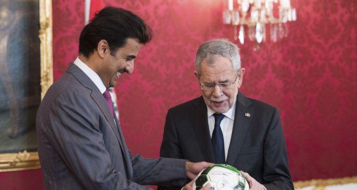 أمير قطر تميم بن حمد آل ثاني - كأس العالم 2022