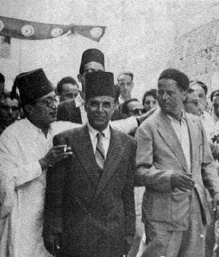 محاكمة الرئيس التونسي الراحل الحبيب بورقيبة