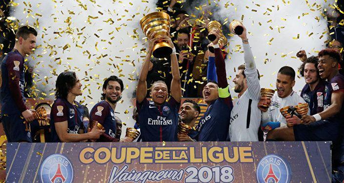 فوز فريق باريس سان جيرمان بلقب كأس الرابطة الفرنسية، للمرة الثامنة في تاريخه