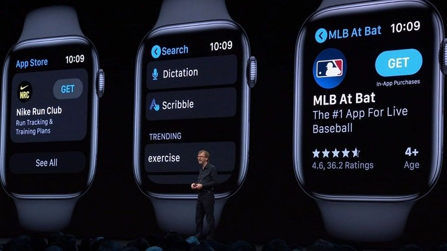 Exhibitions of new 6 features will come to the Apple Watches