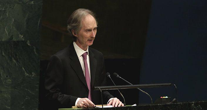 المبعوث الأممي الخاص إلى سوريا جير بيدرسون