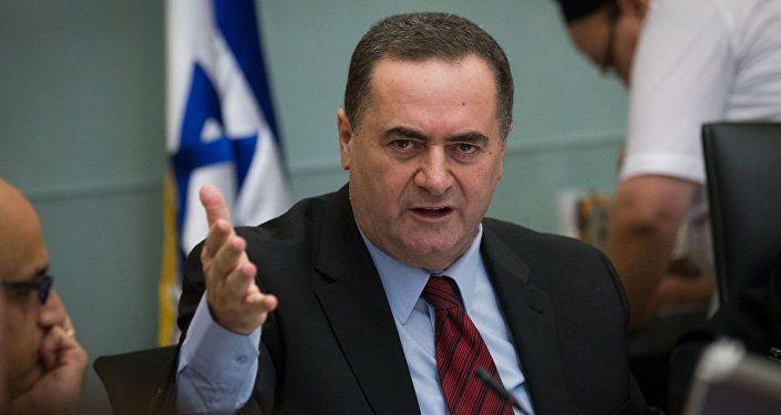 وزير المواصلات وشئون الاستخبارات الإسرائيلي يسرائيل كاتس