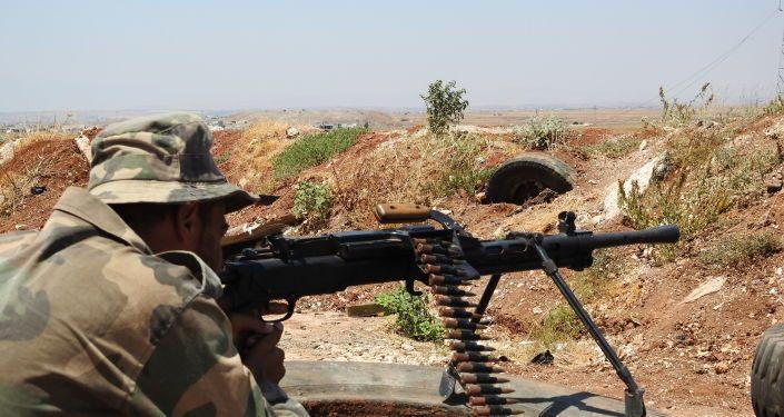 الجيش السوري ينتزع (الزكاة) من مسلحي القاعدة