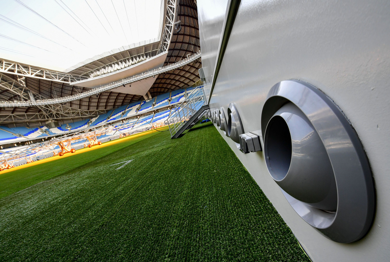 تكييف ملاعب كأس العالم 2022 في قطر