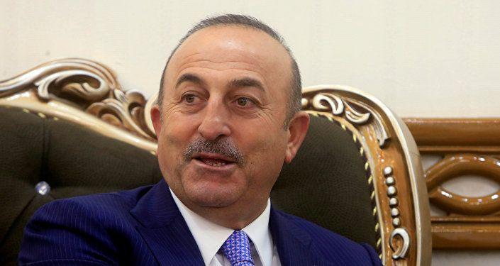 وزير الخارجية التركية مولود جاويش أوغلو