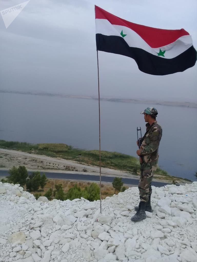 الشرطة الروسية تدخل مدينة عين العرب.. والجيش السوري يرابط جنوبها