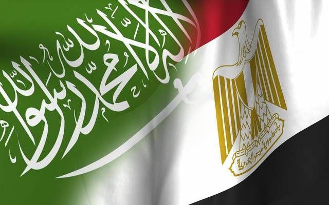 علم المملكة العربية السعودية وجمهورية مصر العربية- أرشيفية