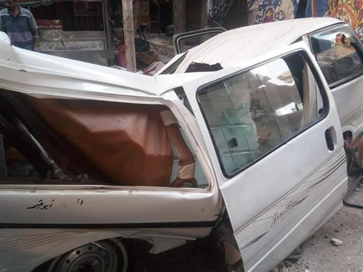 سقوط شرفة عقار في الإسكندرية (2)